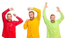 dansare tre barn Royaltyfri Bild