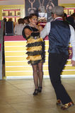 Dansaredans Blick för JUNWEX-Moskva 2014 Arkivbilder