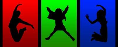 dansaredeltagare Royaltyfri Fotografi