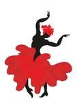 Dansareflamenco Royaltyfri Fotografi