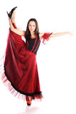 dansareflamenco Arkivbild