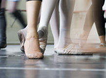 dansarefot arkivbild