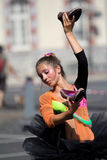 Dansareholdingskor fotografering för bildbyråer