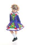 dansareirländarebarn Royaltyfri Fotografi