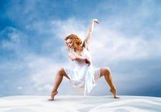 dansarekvinna Royaltyfri Foto