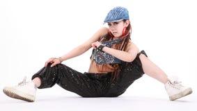 dansarekvinna Arkivbilder