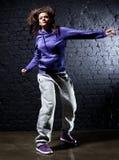 dansarekvinnabarn royaltyfri foto