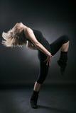 dansarekvinnabarn Arkivfoto