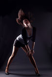 dansarernbkvinna Arkivbild