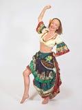 dansarezigenare royaltyfri bild