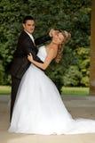 dansbröllop Arkivbilder