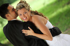 dansbröllop Royaltyfria Bilder