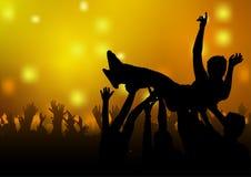 Dansdeltagare Royaltyfri Bild