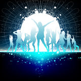 dansdeltagaretid Arkivbilder