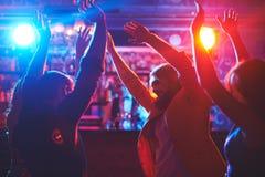 Danse à la partie Image stock