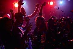 Danse énergique Image libre de droits