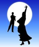Danse 2 de clair de lune illustration libre de droits
