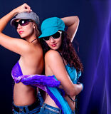 Danse 4 de disco Photographie stock