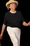 Danse aînée Photos stock