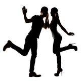 Danse asiatique de couples Image libre de droits