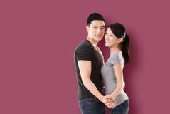 Danse asiatique de couples Photo libre de droits