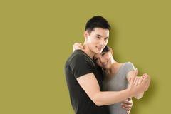 Danse asiatique de couples Images libres de droits