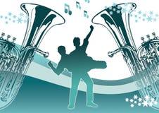 Danse avec des étoiles Photographie stock libre de droits