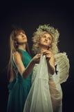 Danse avec l'ange Photo libre de droits