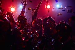 Danse avec le champagne Photographie stock