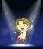 Danse avec les étoiles illustration libre de droits