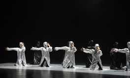 Danse avec un ` de danse du ` s de masque-Huang Mingliang aucun ` d'abri Photographie stock