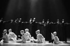 Danse avec un ` de danse du ` s de masque-Huang Mingliang aucun ` d'abri Images libres de droits