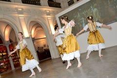 Danse baroque en Pologne Image libre de droits