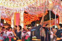 Danse chinoise 1 de dragon Photo libre de droits