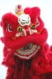 Danse chinoise de lion photo stock