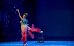 Danse classique Lèvre-chinoise de fée-Rouged de vol Image libre de droits