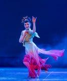 Danse classique Lèvre-chinoise de fée-Rouged de vol Image stock