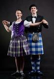 Danse d'écossais Images libres de droits