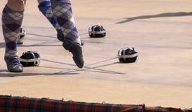 Danse d'écossais Images stock