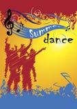 Danse d'été Photos stock