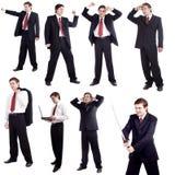 Danse d'affaires Images libres de droits