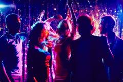 Danse d'amis Images libres de droits