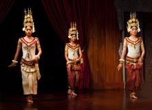 Danse d'Apsara Photographie stock