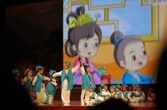 Danse d'enfants Photo stock