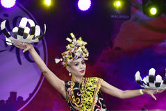 Danse d'Enggang image stock