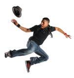 Danse d'homme de Hip Hop Images libres de droits