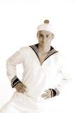 Danse d'homme de marin Image stock