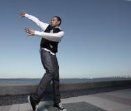 Danse d'houblon de gratte-cul Images libres de droits