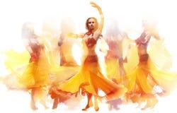 Danse d'incendie Photo stock