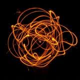 Danse d'incendie Images libres de droits